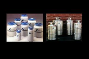 インターナショナル クライオジェニクス社 各種液体窒素用、液体ヘリウム用容器