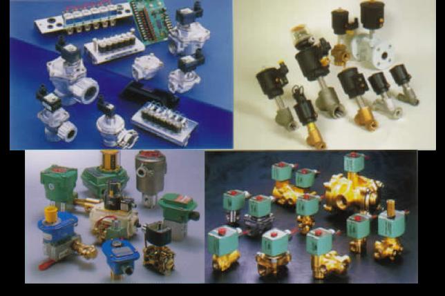 日本アスコ株式会社 各種電磁弁