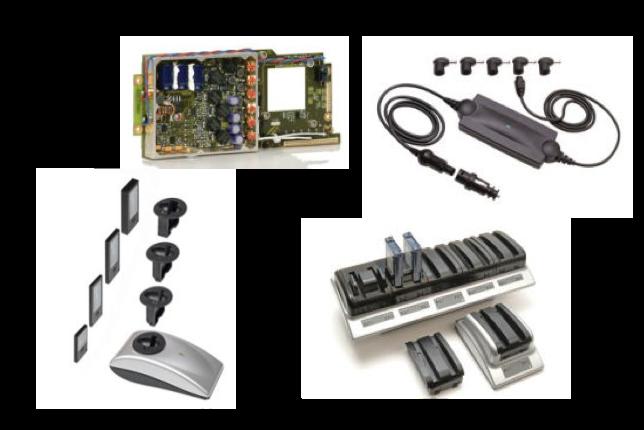 アールアールシー社 充電器、電源アダプター